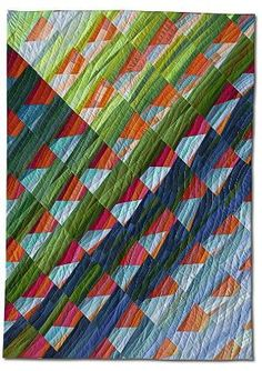 quilt by ursula könig - Cactus, 2002,                 35 x 50 inches