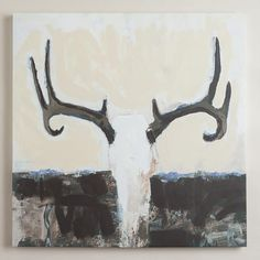 One of my favorite discoveries at WorldMarket.com: 'Deer Departed' by Vivian Canbelle {World Market}