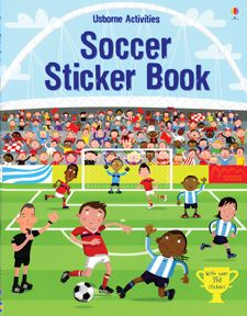 $8.99 Soccer Sticker Book for age 4 and up. Learning about the game is fun.