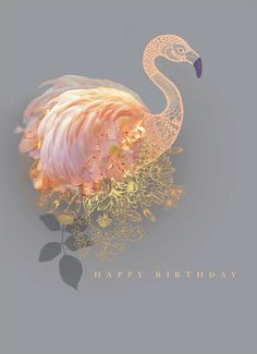 Beautiful new range of designs by the talented Lara Skinner including this delicate along with a few more you can see in her online portfolio happy birthday Happy Birthday Wishes Cards, Birthday Blessings, Happy Birthday Quotes, Happy Birthday Images, Birthday Pictures, Happy Birthday 30 Funny, Happy Birthday Tattoo, Birthday Posts, Birthday Love