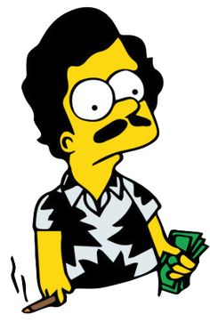 The latest news and ideas that are worth sharing. Simpsons Tattoo, Simpsons Art, Bd Pop Art, Pablo Escobar, Simpsons Characters, Trippy Wallpaper, Dope Art, Traditional Tattoo, Cartoon Art