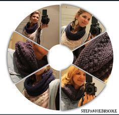 comment tricoter un tour de cou