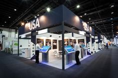 #USA #Exhibition #Stand @ #GulfoodManu2015 #Dubai #UAE #MiddleEast designed & built by #GLeventsMiddleEast