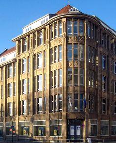 Former retail store in Wallstrasse, Berlin
