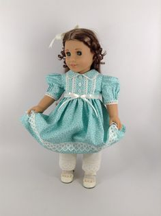 American Girl 18-inch Doll Clothes Dress and by HFDollBoutique
