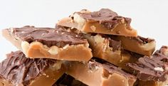 butter toffee recipe http://www.painlesscooking.com/butter-toffee-recipe.html