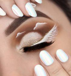 Maquillage Halloween, Halloween Makeup, Under Eye Makeup, Hair Makeup, Make Up, Eyes, Beauty, Bow, Youtube