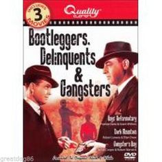 Bootleggers, Delinquents & Gangsters (DVD, 2007)