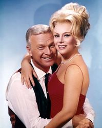 The sitcom followed New York attorney Oliver Wendell Douglas (Eddie Albert) as he lived out his life-long fantasy of being a farmer. His glamorous and ditzy wife Lisa (Eva Gabor) was dragged unwillingly from her sophisticated life to live in a ramshackle farm in Hooterville.