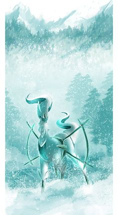 Ice Arceus by Tuooneo on deviantART