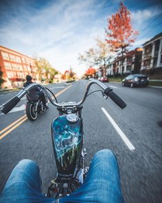 lowbrowcustoms:  Not too many more days like this In Northeast Ohio… 10.22.2015 riding with @gunsforkids after work! #lowbrowlife #lowbrowcustoms #rideeverywhere