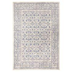 Modrý koberec Schöngeist & Petersen Diamond Details, 133 x 195 cm