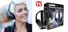 LiveDeal | ΠΡΟΣΦΟΡΕΣ αθήνα | Deal - 12,50€ από 24€ για τα Μοναδικά Ασύρματα Ακουστικά 5σε1 με 5 λειτουργίες χρήσης, ραδιόφωνο, Baby Monitor, Internet Chat, για να απολαμβάνετε τις αγαπημένες σας εκπομπές στην TV χωρίς να ενοχλείτε ή για συνομιλίες μέσω In