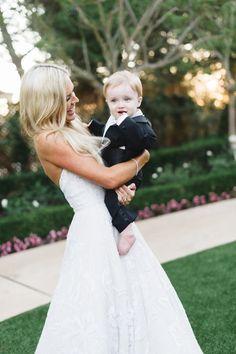 The sweetest little ring bearer: http://www.stylemepretty.com/california-weddings/dana-point/2016/04/25/glamorous-ballroom-wedding-thats-got-florals-for-days/ | Photography: Jana Williams - http://jana-williams.com/
