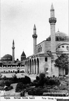 Yavuz Selim cami ve mevlana türbesi