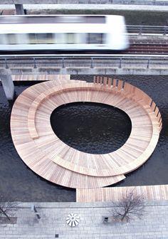 The Islands in Ørestad, Copenhagen. Bygherre: By & Havn Arkitekt: ORT (Open Research Team) Entreprenør: Aarsleff