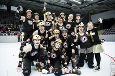 Copenhagen Roller Derby Feb. 22nd Rollin' Heartbreakers vs. Crime City Rollers A #rollerderby © 2014 Peter Troest. All rights reserved.