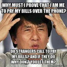 Why must I prove tha