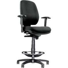 Via Riva Drafting Chair  sc 1 st  Pinterest & Black MultiFunctional Ergonomic Drafting Chair with Adjustable ... islam-shia.org