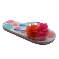 24cab2fb4a28f Custom flip flops - Flower post flip flops