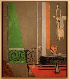 Matisse, La leçon de piano, 1916, MoMA
