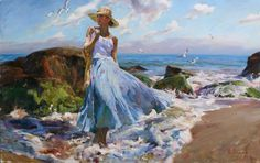 michael inessa garmash paintings | Renewed II a Michael and Inessa Garmash Original Painting