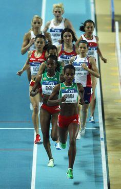 Genzebe Dibaba Photo - IAAF World Indoor Championships - Day Two