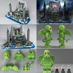 Cthulhu LEGO set