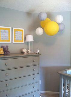 Baby B S Lemon Grey Nursery Brooks Alexander Pinterest