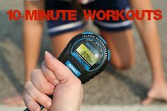Got 10 minutes? We have four workouts you can squeeze in. | Fit Bottomed Girls
