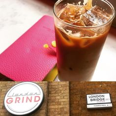 Iced Coffee and Plan Time  @londongrind #lovelondon #coffee #butfirstcoffee #coffeebreak #londongrind  #lovecoffee #icedcoffee #edgy #currenttrends #pink #notepad #planneraddict #planning #scheduling #busybee #londonbridge #londoneats #chillax #metime #pitstop #girly #letsgo