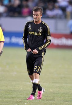David Beckham Photos Photos  Footballer David Beckham lead the LA Galaxy to  victory over the Chivas USA by 3 goals to 1 at the Home Depot Centre in Los  ... bff0ea602