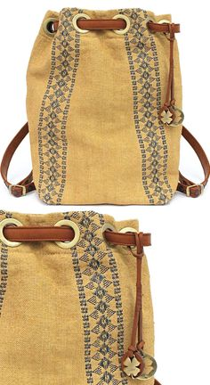 Summer adventures, here we come! >> Lucky Brand® Grendada Drawstring Backpack