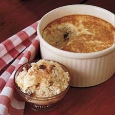 Grandma's Rice Pudding Recipe:with its custard-like layer on the top. We added a 1/2 tsp vanilla and 1/2 tsp cinnamon, just our taste. We enjoyed warm or cold, with milk. So easy and a great way to use up leftover rice.