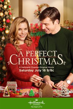 Its a Wonderful Movie - Your Guide to Family Movies on TV: 'A Perfect Christmas' a Hallmark Channel 'Christmas Keepsake' Premiere during *Christmas in July*!