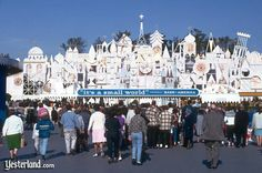 1966 - It's a Small World opens