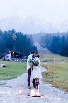 Winter Elopement auf der Zugspitze | Hochzeitsblog The Little Wedding Corner