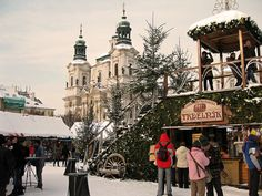 Christmas Market at Old Town Square, Prague
