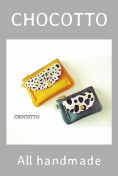手縫いで柔らかい革や牛毛皮を使って革小物を制作しています☆♪ハラコ・ハンドメイド・leather craft・design・ミニチュア・ポーチ・キーホルダー・財布・革製品・手作り・アクセサリー・バッグ・デザイン・ディスプレイ・レザー・アニマル柄・handmade・miniature Blog Entry, Coin Purse, Purses, Wallet, Handmade, Bags, Handbags, Handbags, Hand Made