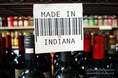 Arcadia #Wine and Spirits in Arcadia, #Indiana -- They carry Indiana products! Excellent renovation with a fantastic spooky story.