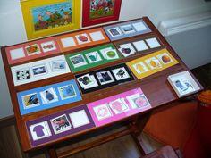 """Comme la plupart des enfants montessoriens, à la question """"voulez-vous travailler ?"""", Emma et Alexandre répondent en général : """"oh oui génia... Kids Education, Activities, Frame, Blog, Diy, Ideas, Colors, Montessori Activities, Color Schemes"""