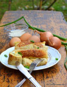 Блинчики с рисом и яйцом