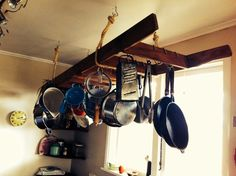 Kitchen ladder by Kirsti and Michael-one of my favourite things.