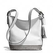 legacy duffle in studded leather