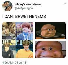 Nct memes cause why not¿ Nct 127, K Pop, Johnny Seo, Nct Johnny, Nct Life, Jaehyun Nct, Funny Kpop Memes, Jung Jaehyun, Na Jaemin
