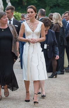 Kate and William, who touched down in Warsaw on Monday, made the joke before attending the Queen's Birthday Party at the Orangery in Łazienki Park, hosted by the British Ambassador.