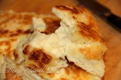 Southern Old Fashioned Biscuit Bread. Biscuit bread is suitable for breakfast, lunch or dinner, and it's as good drizzled with syrup or honey, as it is as a side bread for soup, beans, chicken and dumplings, or with Sunday supper.