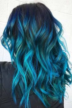 27 Long Ombre Hairstyles to Be Vibrant Fantastische Farbe Ombre Frisuren Vibrant Hair Colors, Cute Hair Colors, Pretty Hair Color, Hair Dye Colors, Ombre Hair Color, Indigo Hair Color, Brunette Color, Brunette Hair, Brown Ombre Hair