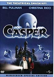 Casper, 1995 avec Christina Ricci et Bill Pullman. Film D'action, Bon Film, Film Serie, Drama Film, Casper 1995, Live Action Movie, Action Movies, Top 10 Halloween Movies, Childhood