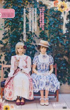 Victorian Maiden // Heidi and Clara